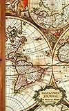 Password Journal: Password Keeper / Map Gifts ( Internet Address Logbook / Diary / Notebook ) (Password Journals - Antique Travel Map)