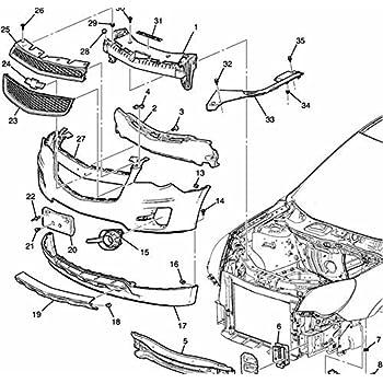 Amazon Com Oe Replacement Chevrolet Equinox Front Bumper Cover