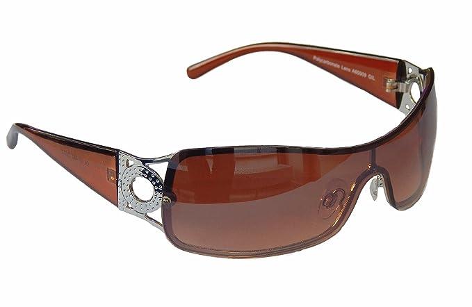 Sonnenbrille Damenbrille Brille Monoglas Moderner Style Damen M 41 (Silber Weiß) TcuRVzQ