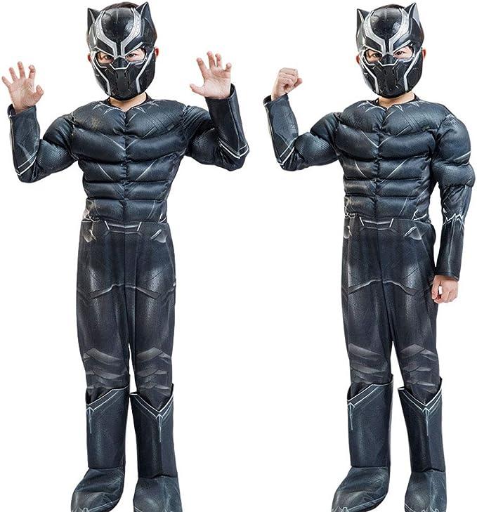 Superhero Black Panther Kids Dress Up Disfraces de Halloween ...