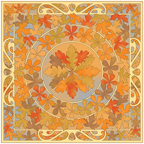 KAREN FOSTER Design Scrapbooking Paper, 25 Sheets, Leaves of Fall, 12 x 12 ()