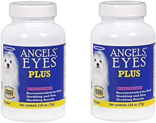 product image for Angel's Eyes 2 Pack of Plus All Natural Anti Tear Stain Supplement Powder, 2.64 Ounces each