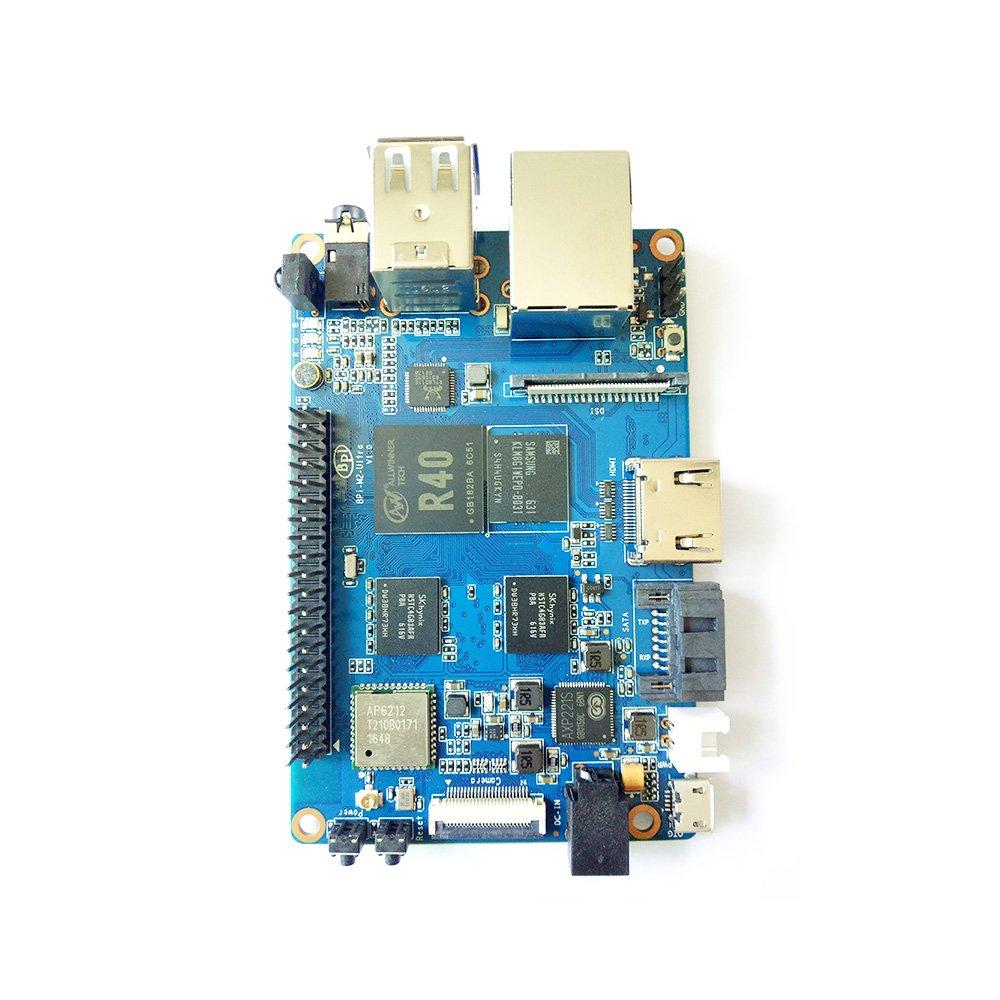 Banana Pi BPI M2 Ultra R40 Quad-Core 2GB DDR3 RAM with SATA WiFi Bluetooth 8GB eMMC demo board Single Board Computer by SmartFly Info (Image #3)