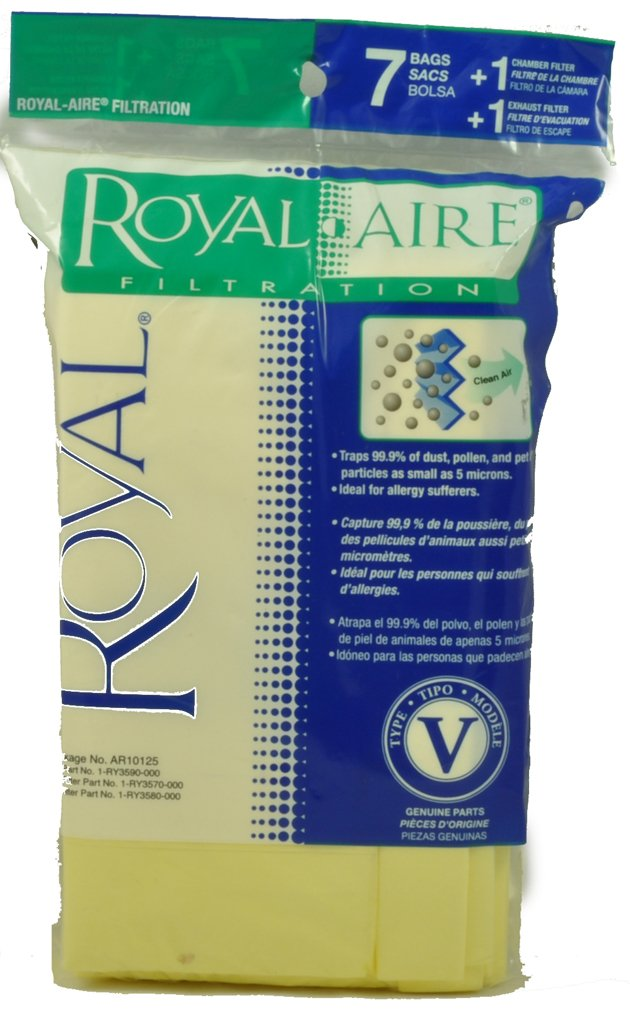 Royal Type V Vacuum Cleaner Bags