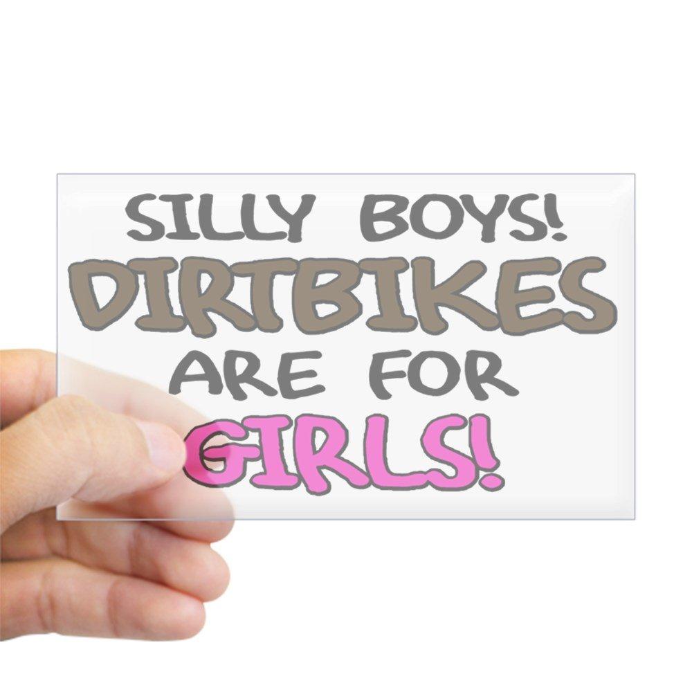 激安ブランド CafePress – Silly クリア Boys Dirtbikes長方形ステッカー – – 3x5 長方形バンパーステッカー車デカールステッカー Small - 3x5 クリア 0166950074BB06F Small - 3x5 クリア B00PKNTVWA, モトスシ:1cb93d9a --- mvd.ee