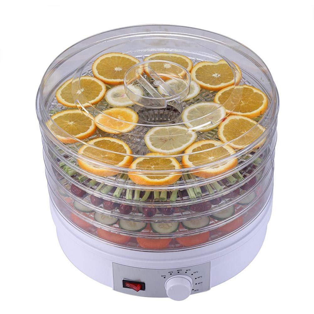 Secador deshidratador de alimentos, herramientas de gastronomía molecular de secadores de baja temperatura de Sugar Art, de alimentos de 5 niveles para ...