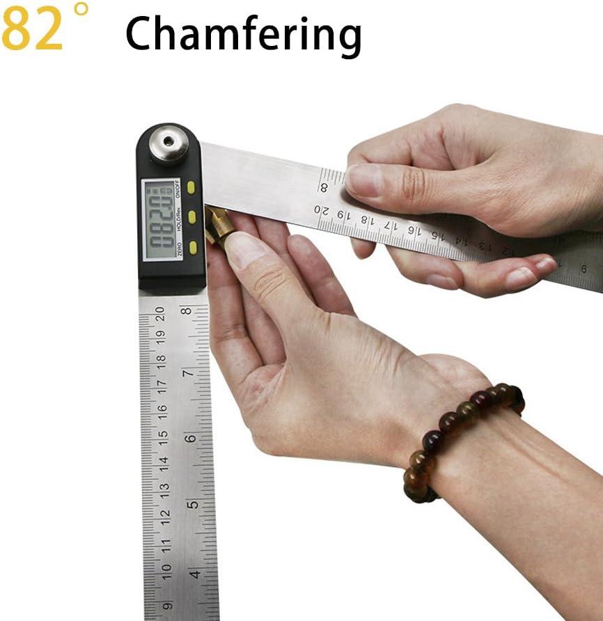 3//4 -19mm 1//4 6Pcs 1//4 Hex Shank HSS 5 Flute Countersink Drill Bit Set 82 Degree Titanium Coated/Chamfer Tool 6mm