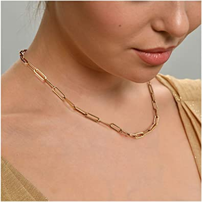 Necklace Beautiful Lightweight Gold Tone Link Chain 26 Inch Necklace Affordable Jewelry!!!