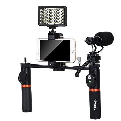 Amazon com : Viewflex Smartphone Video Kit VF-H7 Phone Video Rig