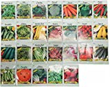 Set of 26 Deluxe Valley Greene Vegetable Garden Seeds (26 Variety Deluxe Garden)