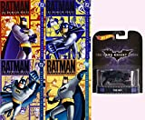 Batman Animated Series Volumes 1-4 Boxed Sets With Hot Wheels Retro Entertainment Die-Cast Vehicle
