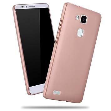 Apanphy Huawei Mate7 Hülle , Hohe Qualität Ultra Slim Harte Seidig Und Shell Volle Schutz Hinten Haut Fühlen Schutzhülle für