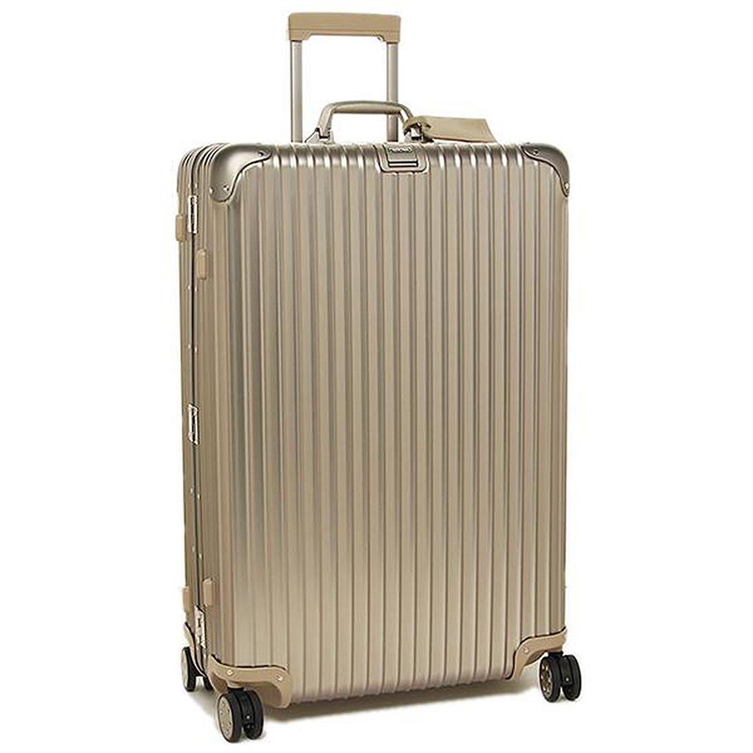 リモワ スーツケース レディース/メンズ RIMOWA 923.77.03.4 TOPAS TITANIUM トパーズ 81.5CM 98L 7~10泊用 4輪 TSAロック キャリーバッグ GOLD [並行輸入品]   B01N28V643