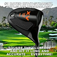 """HAVE TROUBLE HITTING YOUR DRIVES STRAIGHT? NOT ANYMORE! USE THIS BRAND NEW DRIVER TO GAIN AMAZING DISTANCE AND ACCURACY OFFSET MONSTER Driver """"THE WORLD'S LONGEST"""" RIGHT/HAND 10.5* or 12* Degree loft AVAILABLE RE-ENGINEERED ROCKET FACE VERSIO..."""