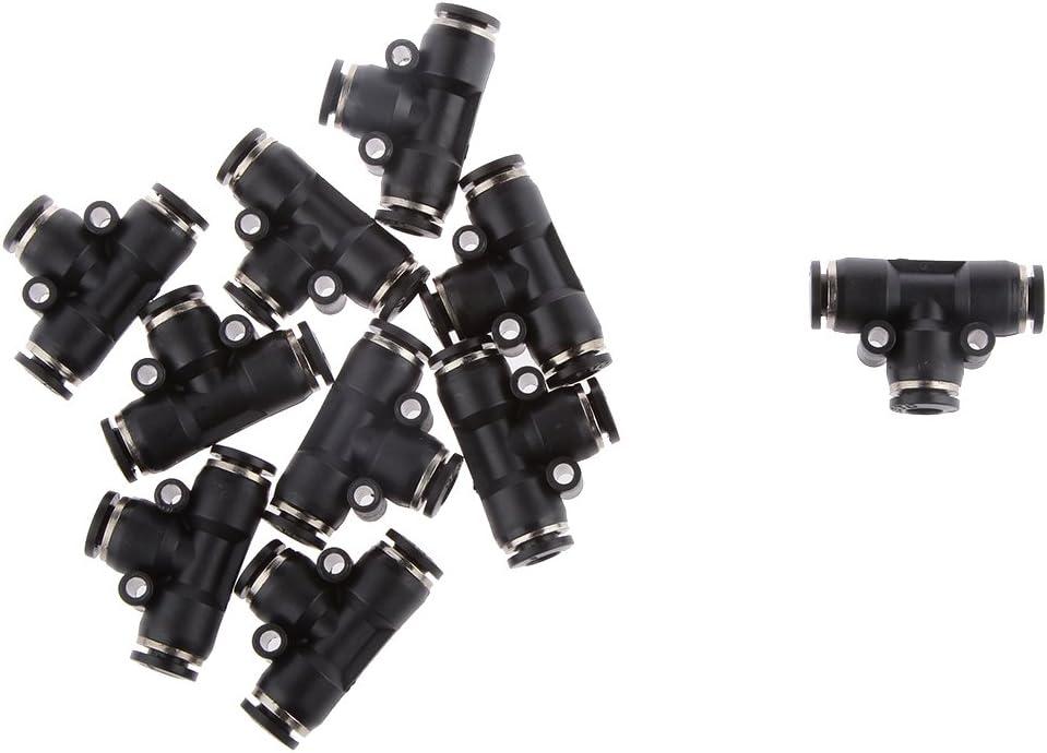 10 Mm 6mm empuje en la reducción de Nylon Tubo Conector Carpintero