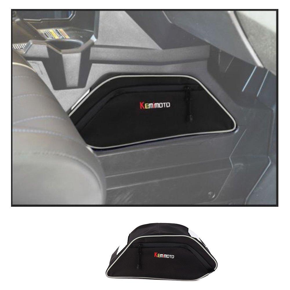 KEMIMOTO UTV Center Seats Console Storage Bag for Polaris General 4 1000 2016 2017 2018