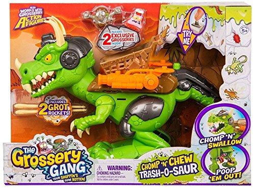 The Grossery Gang Time Wars Chomp 'n' Chew Trash-O-Saur Moose Toys 69146