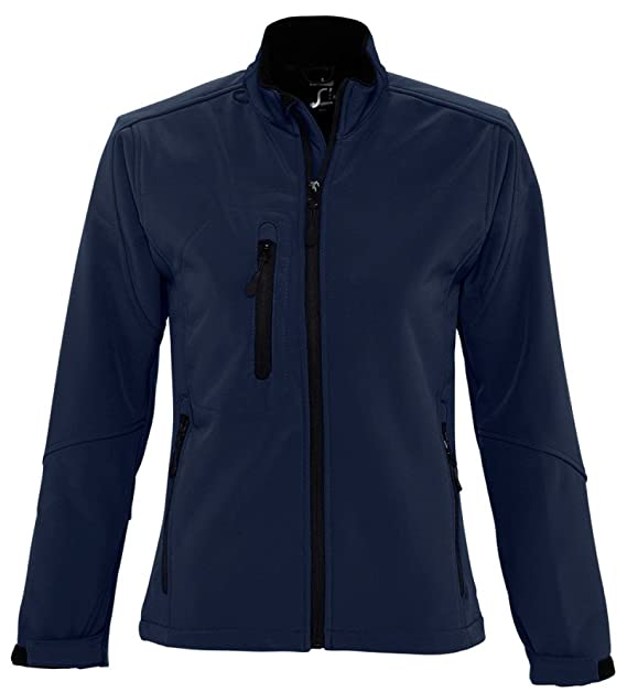 Amazon.com: SOLS Mujer Roxy Soft Shell chamarra: Clothing