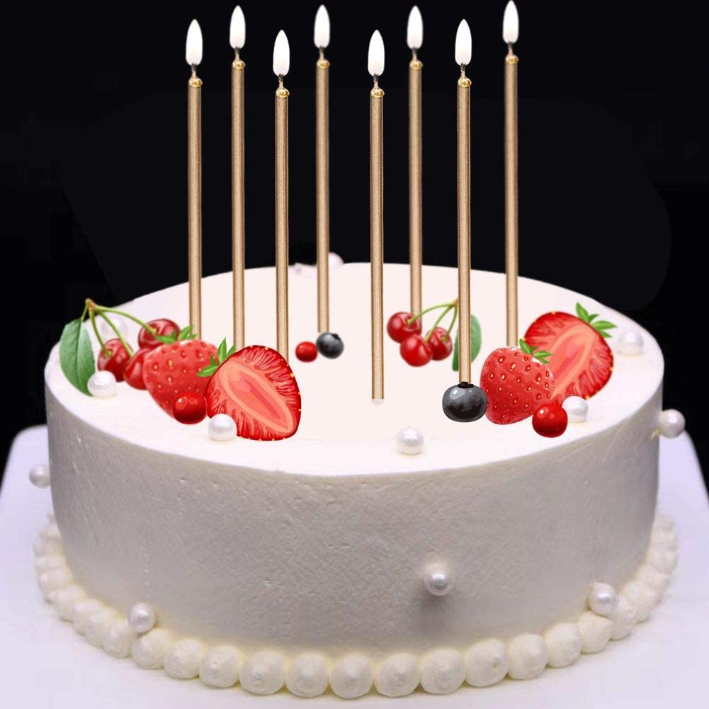 Cool Amazon Com Mokaro 24 Count Birthday Candles Bulk For Christmas Funny Birthday Cards Online Barepcheapnameinfo