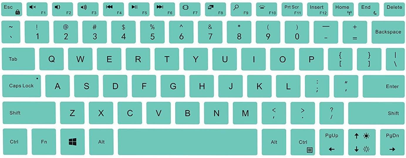 Ultra Thin Keyboard Skin Cover for 13.3