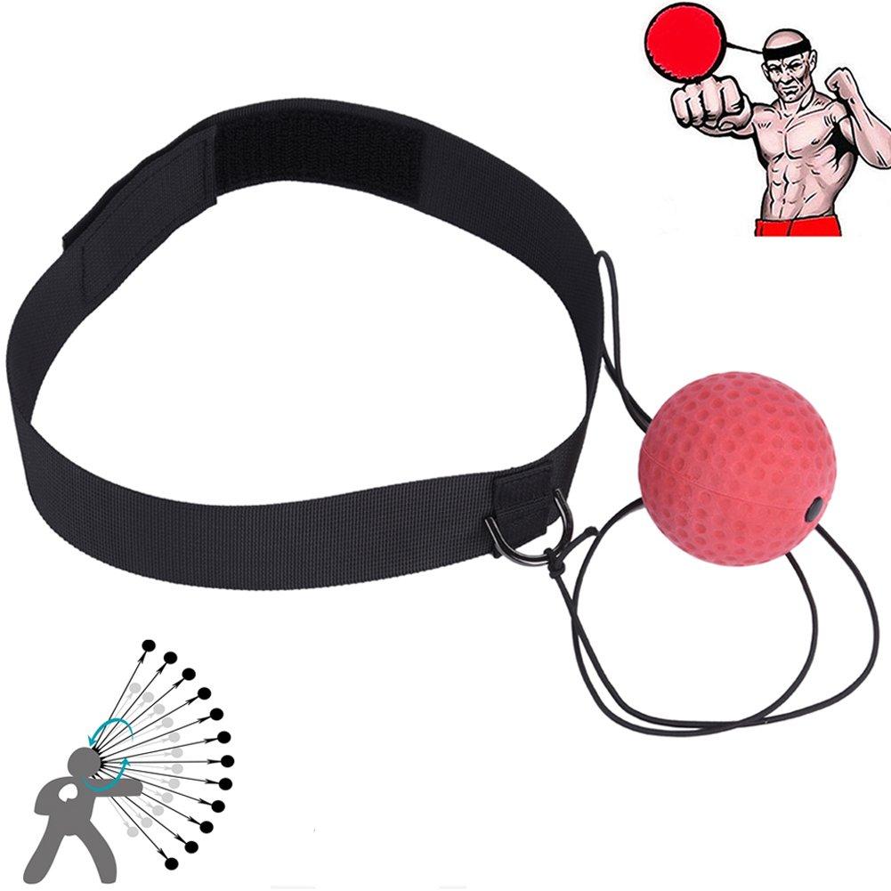 Ueasy – Balle de réflexe pour entraînement de boxe