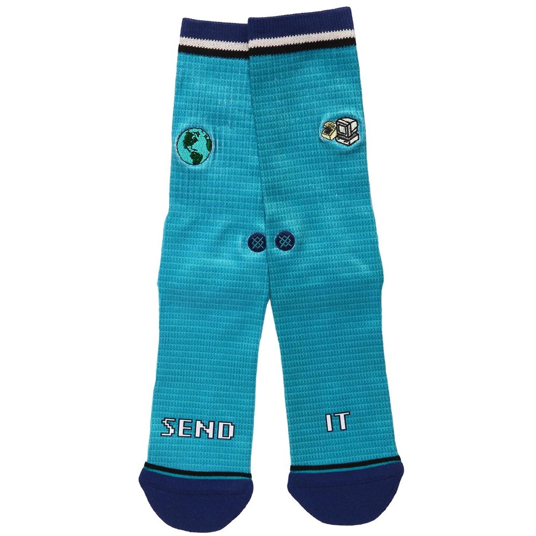 29e23f39f0418 De bajo costo Stance - Medias de fútbol - para hombre Azul verde petróleo L