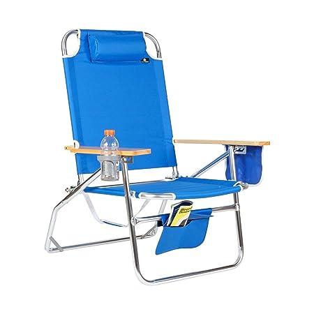 Big Jumbo Heavy Duty 500 lbs XL Aluminum Beach Chair for Big Tall