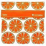 LunchSkins Reusable Sandwich Bag - Tnagerine Orange