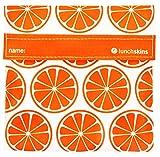 Lunchskins Reusable Velcro Sandwich Bag, Tangerine Orange