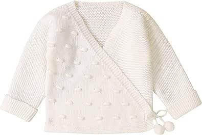 puseky Bebé Bebé Niñas Niños de Manga Larga de Punto Cardigan Suave Cálido Suéter Chaqueta Abrigo Traje