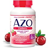 AZO Cranberry, Daily Urinary Tract Health Dietary Supplement, 25,000 mg Of Cranberry Fruit Equivalent Per Dose Equal To…