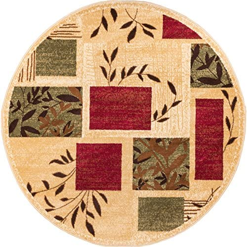 Well Woven Barclay Hannover Ivory Modern Area Rug 5 3 Round