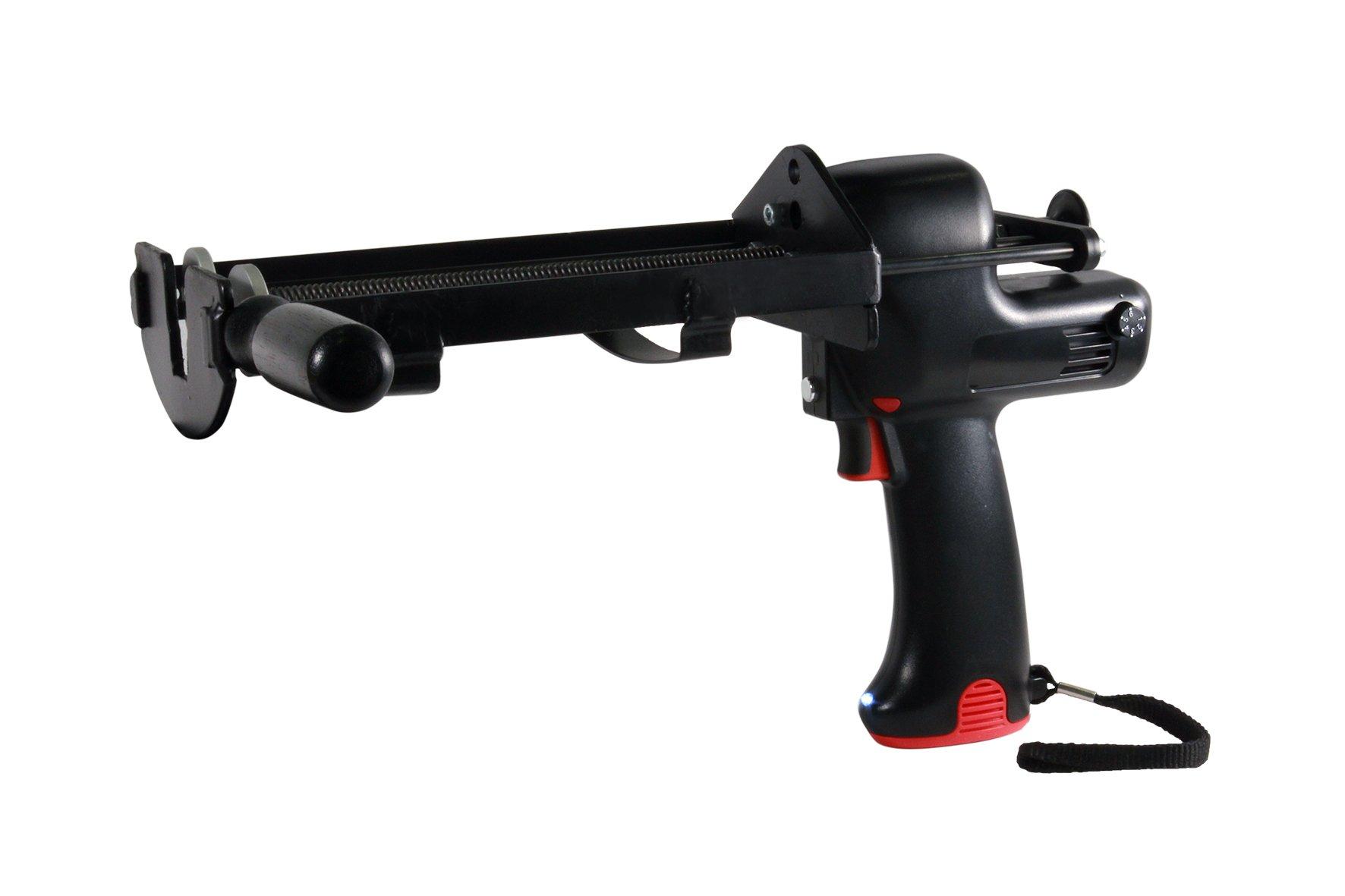 Wellmade Tools CEG-300 Dual Cartridge Battery Operated, 300ml x 300ml