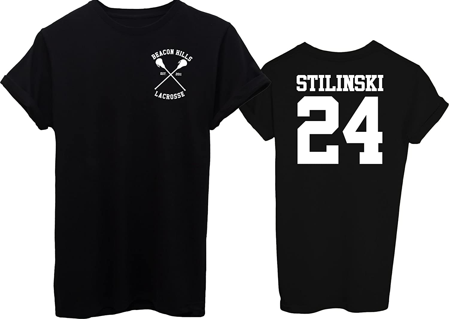 iMage T-Shirt Beacon Hills Stilinksi 24 Fronte E Retro - Famosi iMageT-IT-2212-parent