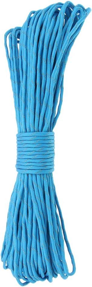 perfeclan 4mm Reflektierende Schnur Elastische Seile Leicht Nylon Seil