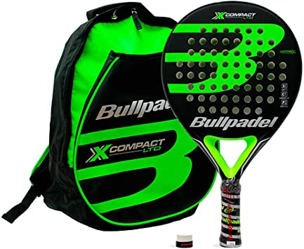 Bullpadel Pack Mochila X-Compact Green: Amazon.es: Deportes y aire ...