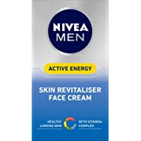 NIVEA MEN Active Energy Skin Revitiliser Face Cream, 50ml