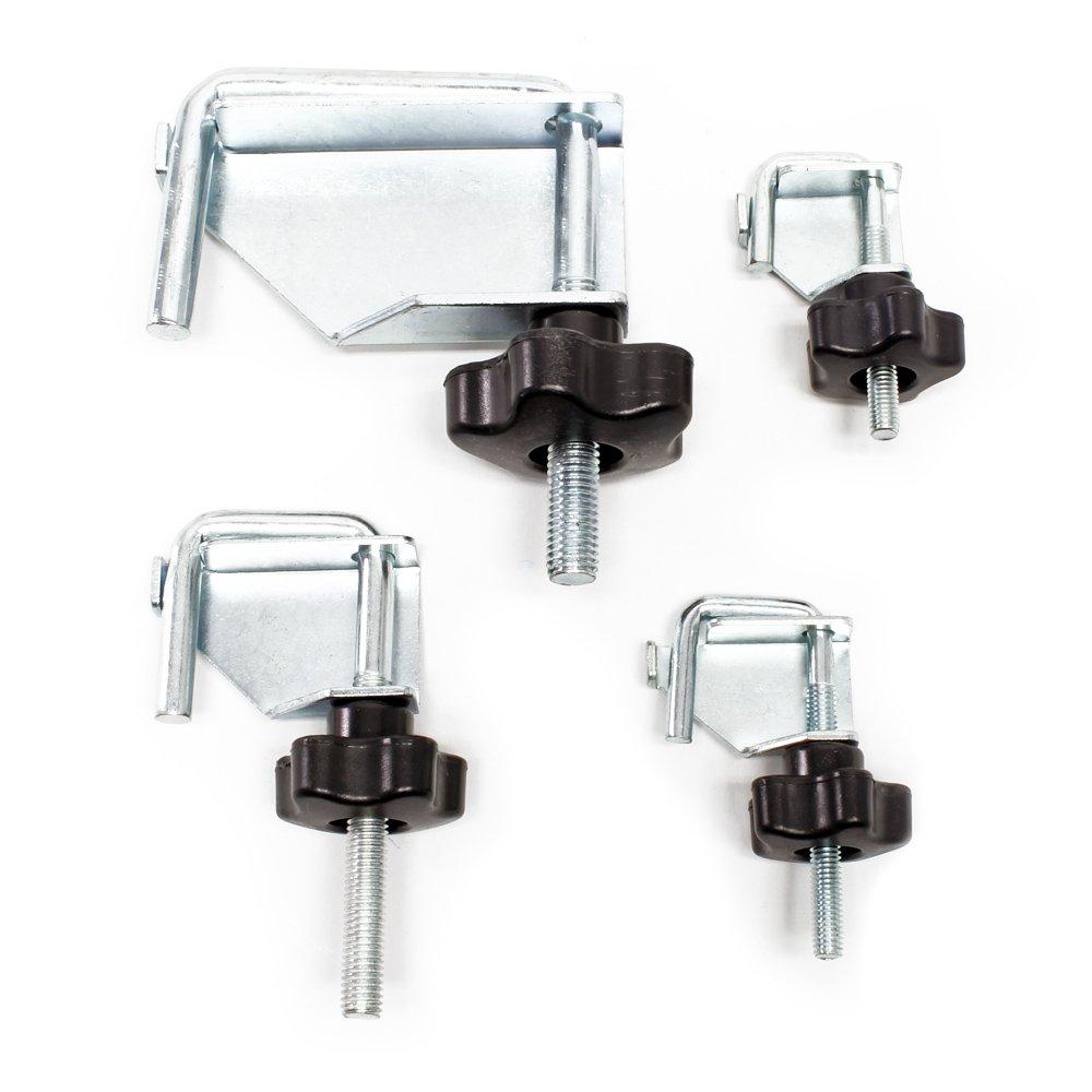 Abklemmwerkzeug Set 4tlg f/ür K/ühlerschl/äuche Benzinschlauch K/ühlmittelschlauch