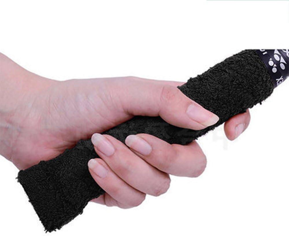 Racket Belt Badminton Hand Glue Outdoor Anti-Slip Badminton Tennis Racket Handle Grip Bands Tape Sweat Band Black Cost-Effective and Good Quality