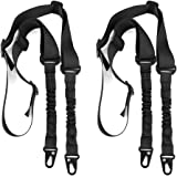 accmor 2 Point Rifle Sling, Multi-Use Two point Gun Sling with Length Adjuster for Hunting, Shooting