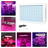 BEAMNOVA 300w LED Grow Light Plant Growing Bulbs Full Spectrum Lamp Panel Fixture for Greenhouse Indoor Hydroponic Flowering Lighting