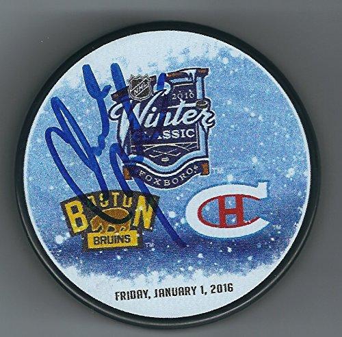 Signed Claude Julien Boston Bruins 2016 Winter Classic Hockey Hockey Puck   Certified Autograph