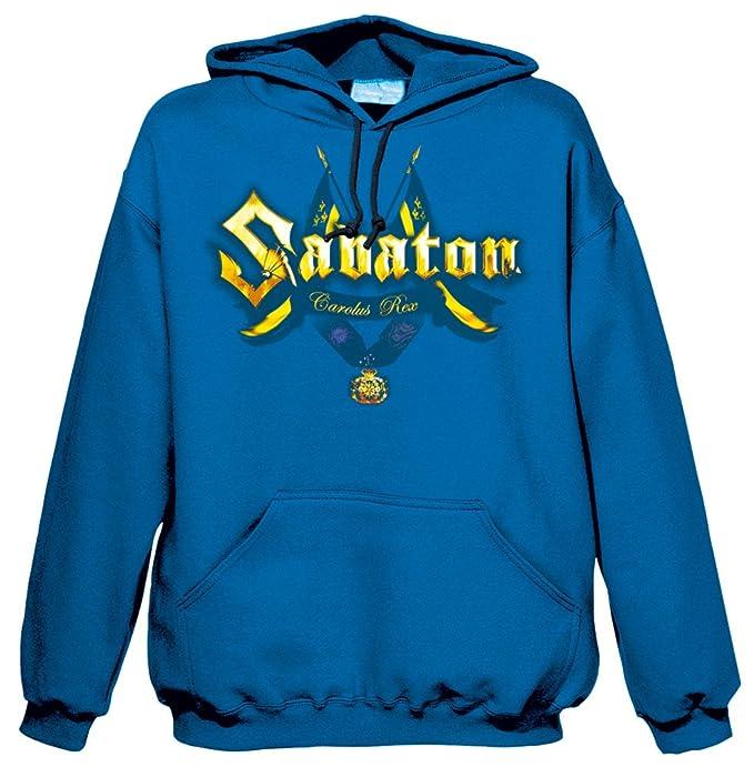 MAM Online - Sudadera con capucha - para hombre azul large: Amazon.es: Ropa y accesorios