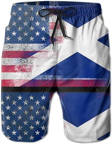 US Coast Guard Mens Boardshorts Swim Trunks Beach Athletic Shorts