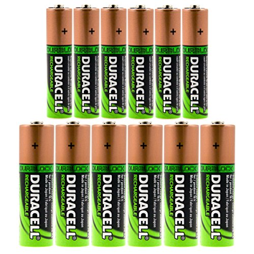 set-of-12-duracell-duralock-rechargeable-batteries-6-aa-6-aaa-battery-nimh-12v-lot