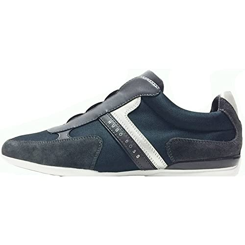 Hugo Boss - Zapatillas para Hombre Azul Azul, Color Azul, Talla 44 EU: Amazon.es: Zapatos y complementos