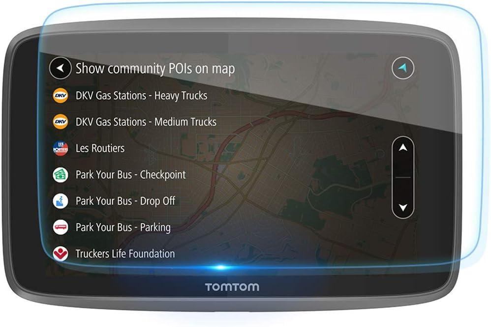 2x Mikvon AntiSun Screen Protector for TomTom Start 20 M Europe Traffic
