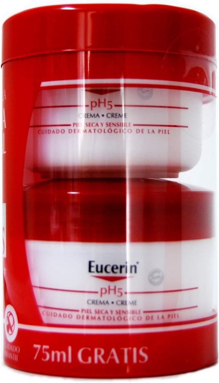 EUCERIN pH5 Skin-Protection Crema Pack 100ML + 75ML: Amazon.es ...