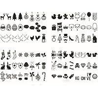 iLoveDeco 96Pcs DIY Decorativos Especiales Cinema Signos Símbolos