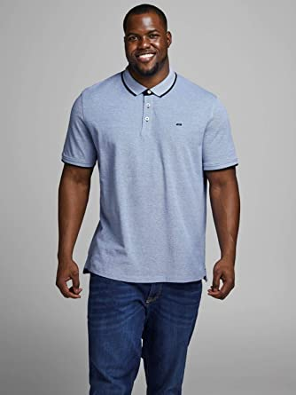 JACK & JONES Polo Paulos Plus (Olive Night, 4XL): Amazon.es: Ropa ...